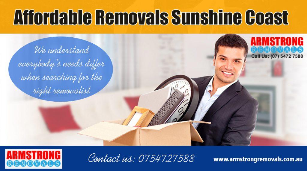 Removal Companies Sunshine Coast