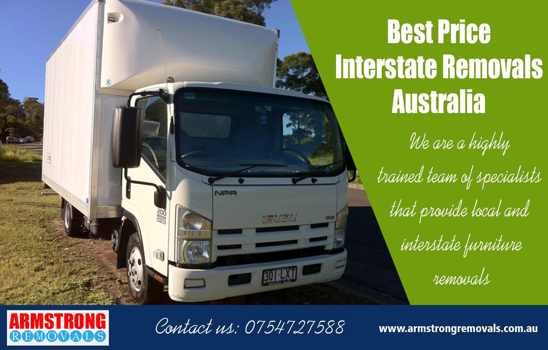 Best Price Interstate Removals Australia
