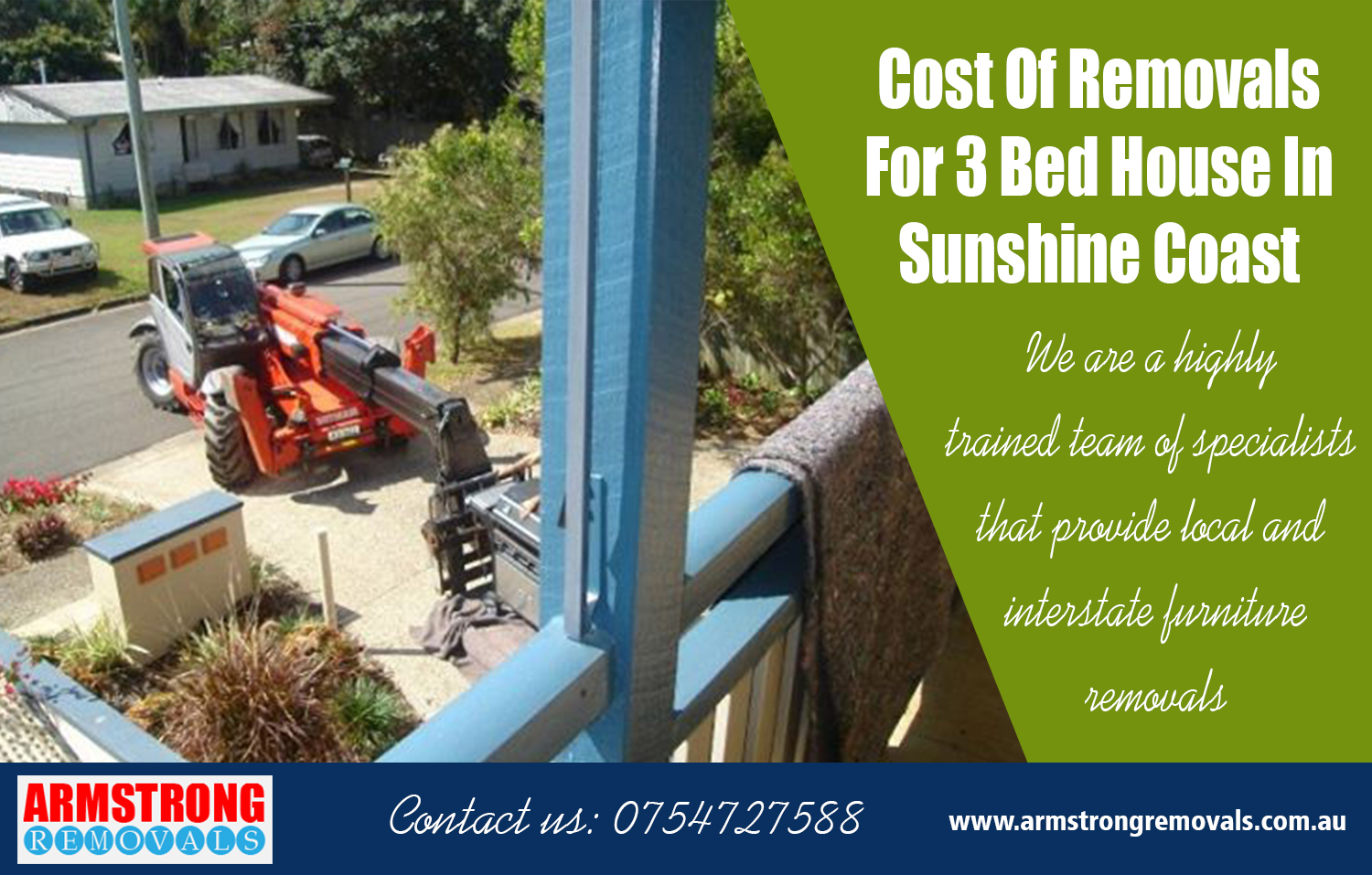 Cost Of Removals For 3 Bed House In Sunshine Coast