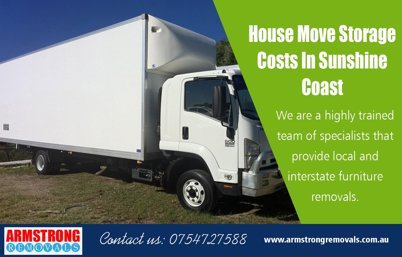 House Move Storage Costs In Sunshine Coast