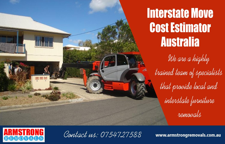 Interstate Move Cost Estimator Australia