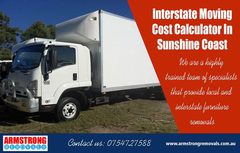 Interstate Moving Cost Calculator In Sunshine Coast