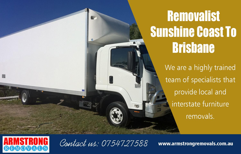 Removalist Sunshine Coast To Brisbane